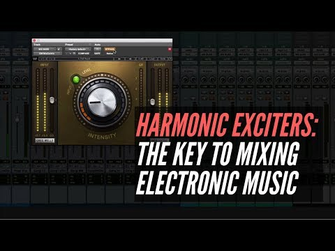 Harmonic Exciters Are The Key To Mixing Electronic Music – RecordingRevolution.com