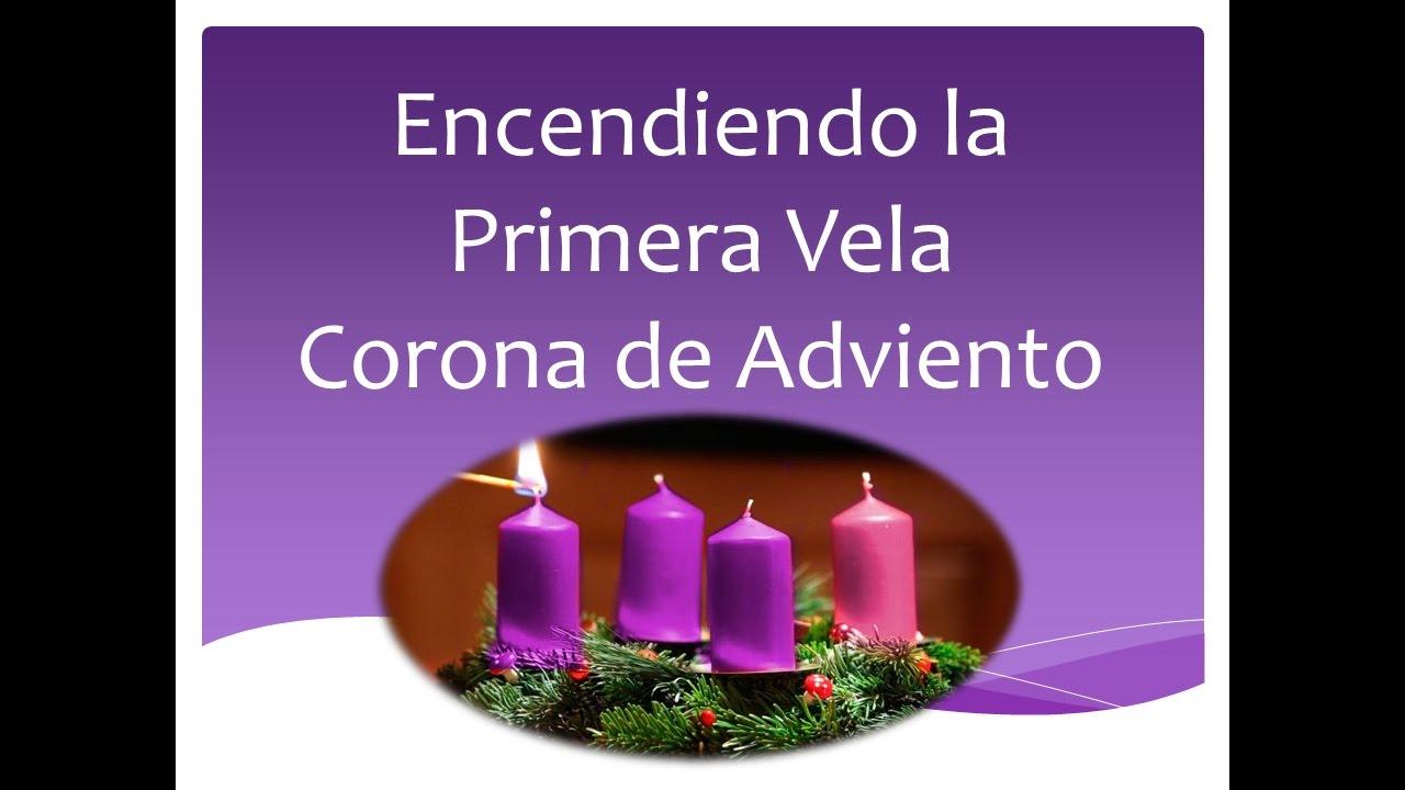 Fotos De La Corona Del Adviento.Para Encender La Primera Vela De La Corona De Adviento