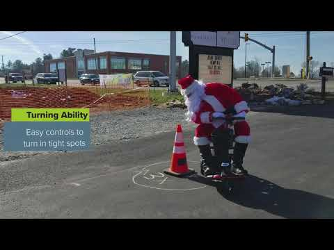 Santa's New Ride: A Golden Mobility Scooter From Remedy Health & Wellness