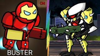 Người Que Vả Nhau Siêu Anh Hùng Chiến Đấu Quái Vật - Hero Wars Super Stickman - Top Game Android Ios