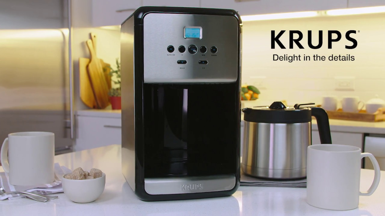 Krups Et3530 Programmable Thermal Filter Coffee Maker
