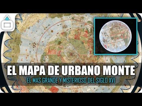 EL MAPA DE URBANO MONTE. El mas grande y misterioso del Siglo XVI