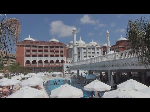 Royal Taj Mahal Hotel 5*. Side, Turkey (Турция / Сиде). ТЕРРИТОРИЯ