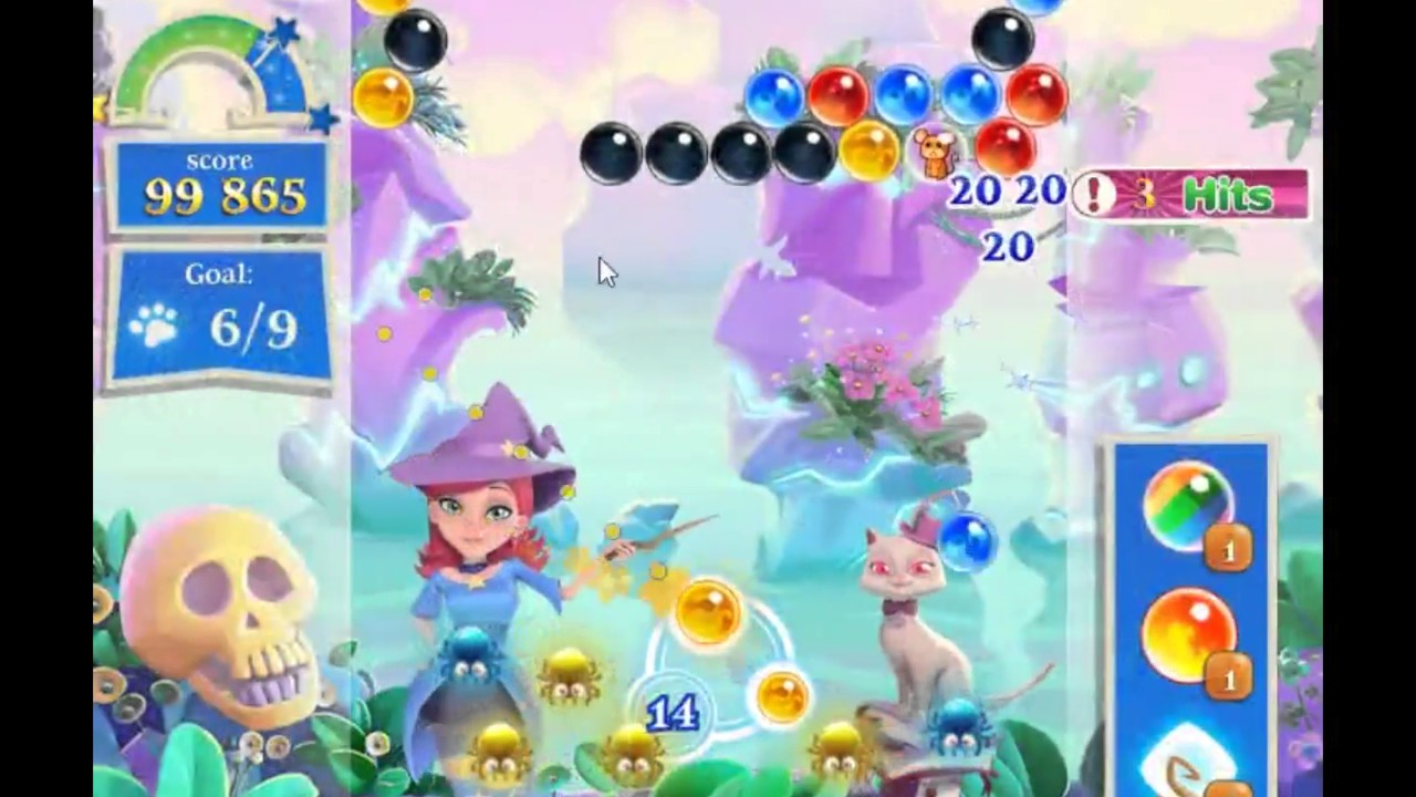 bubble witch saga 2 boosters free