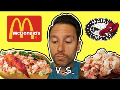 HOW DOES MCDONALD'S LOBSTER ROLL STACK UP VS MAINE