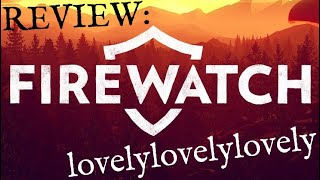 Firewatch: PC-Game Review