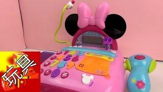 迪士尼Minnie mouse米妮系列 超市 收银台  结帐台 套装 展示
