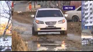 Строительная компания прокомментировала падение человека в вырытую траншею в Южно-Сахалинске