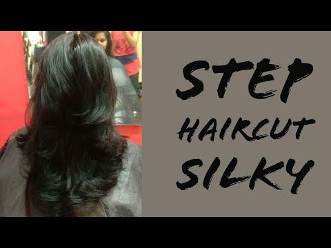 Silky Long Step Haircut In Advance 2018 Youtube