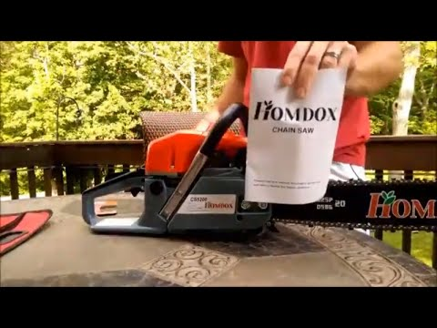 homdox chainsaw