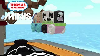 Thomas and Friends Minis - Cow Diesel and Spooky Thomas 2021 Train Track! ★ iOS/Android (by Budge)