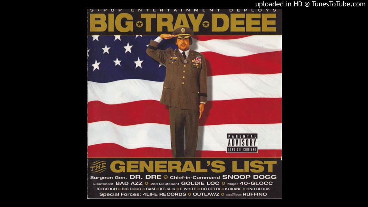 big tray deee - general list - fine fea. snoop dogg - youtube