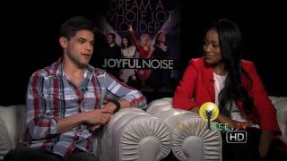 "Keke Palmer and Jeremy Jordan bring us ""Joyful Noise"""
