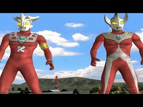 Ultraman Leo & Taro - TAG Battle Mode ★Play ウルトラマン FE3