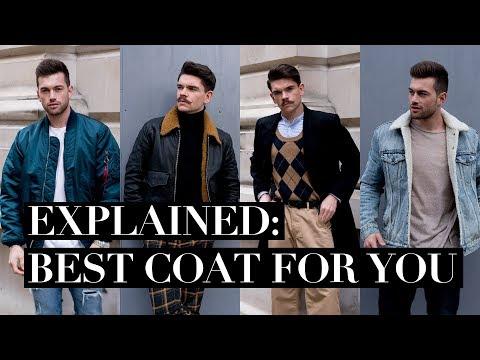 Which Winter Coat Are You? | Men's Winter Coat Guide 2017