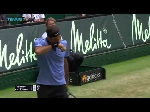Roger Federer best shots from Gerry Weber Open Halle 2017
