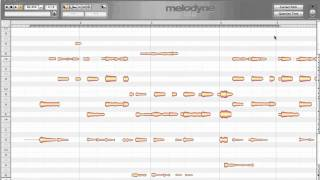 Melodyne Editor Singletrack | Introduction | Carlo Libertini