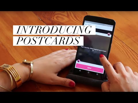 Introducing Postcards | We Heart It