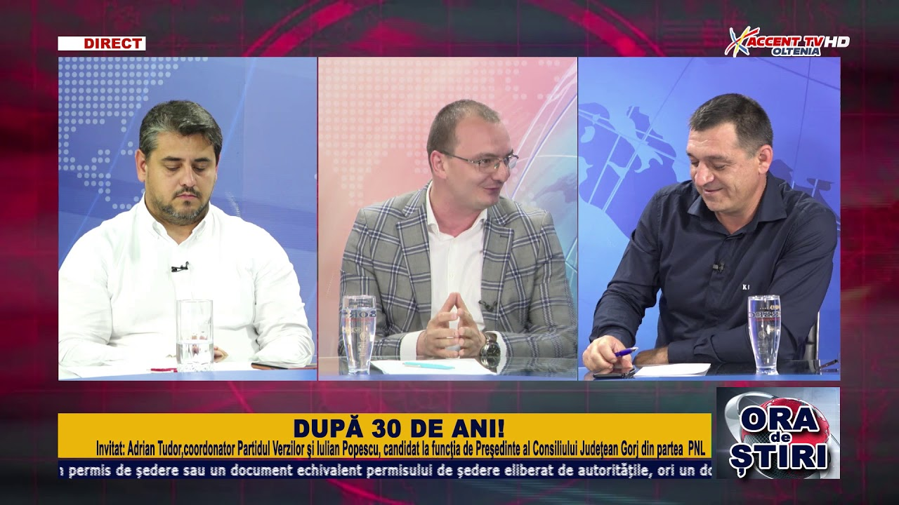 Ora de stiri 9 iulie 2020 Adrian Tudor, Iulian Popescu