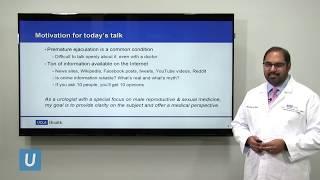 Premature Ejaculation: A Urologist's Perspective