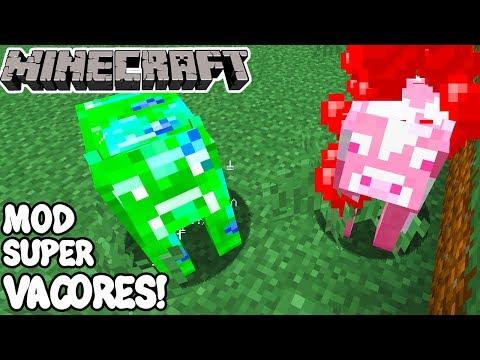 Minecraft 1.12.2 MOD SUPER VACORES! Usefull Cows Mod Español!