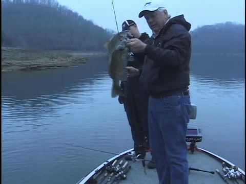 Don Jarvis and Jason Locke Center Hill Lake Smallies