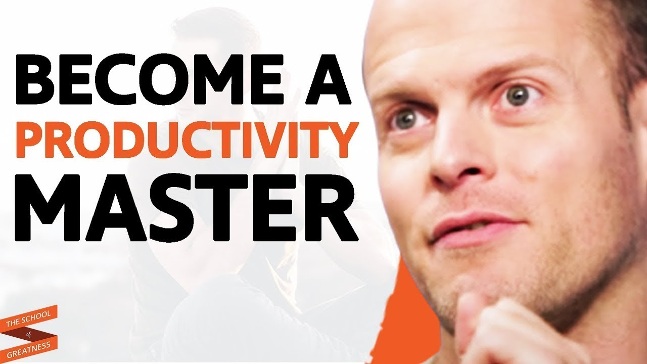 The 10 STEPS To Become PRODUCTIVITY MASTER Today!  | Lewis Howes