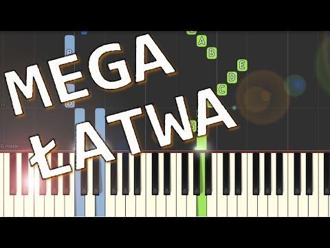 🎹 Weź nie pytaj (P. Domagała) - Piano Tutorial (MEGA ŁATWA wersja) 🎹