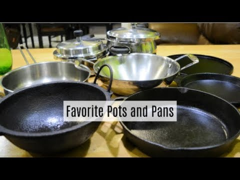 My Favorite Pots And Pans   Seasoning Cast Iron   Indian Kitchen
