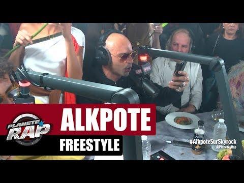 Youtube: Alkpote – Freestyle«Bombe à retardement» #PlanèteRap