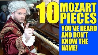 10 Mozart Pieces You've Heard And Don´t Know The Name