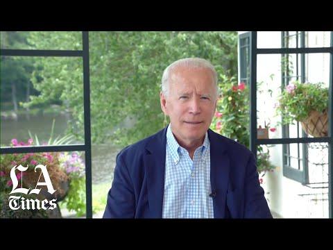 Biden slams Trump''s leadership record