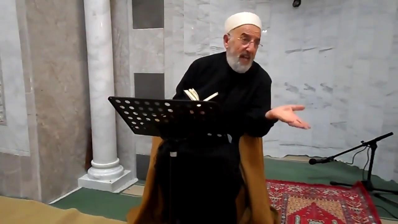 Cheikh Melih Marashi - قصة جميلة جدا يرويها الشيخ عن سيدنا عمر رضي الله عنه وارضاه