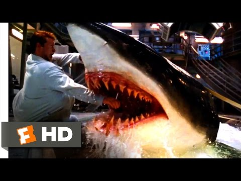 Deep Blue Sea (1999) - Jim Is Bitten Scene (3/10) | Movieclips