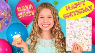 It's My Birthday! The Daya Daily Birthday Party and Makeup!