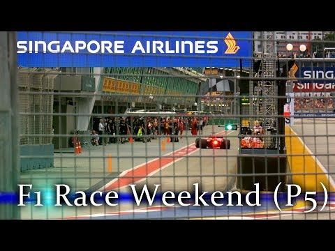F1 Events on Saturday / F1 Race Weekend Singapore / Part 5 / Singapore HD 60p