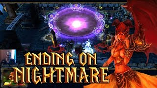 Warcraft 3 UPADORO TD v0.985   Nightmare Difficulty   ENDING THE GAME