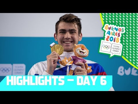 Medal Decisions in Swimming, Badminton and Artistic Gymnastics | YOG 2018 Day 6 | Top Moments
