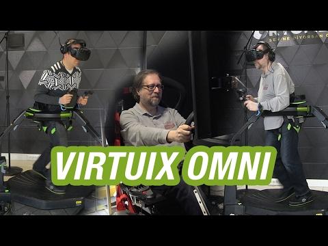 Sanal gerçeklikte yeni boyut Virtuix Omni