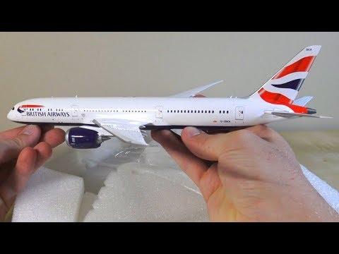 Gemini Jets 1:200 British Airways 787-9 Unboxing