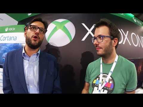 Milan Games Week 17 - Intervista a Paolo Bagnoli di Xbox Italia