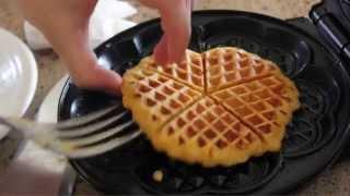 F*** The Crust: Butternut Squash Waffles
