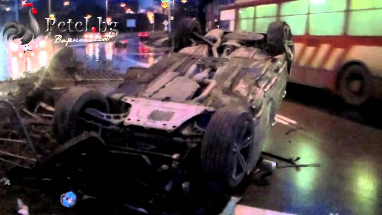 BMW НАПРАВИ ЛУПИНГ В АСПАРУХОВО - YouTube