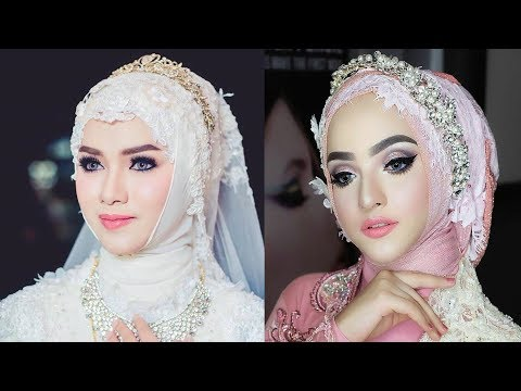 Makeup Wedding Muslim Asia | Asian Bridal makeup | India, Indonesia, Brunai Darussalam, Malaysia