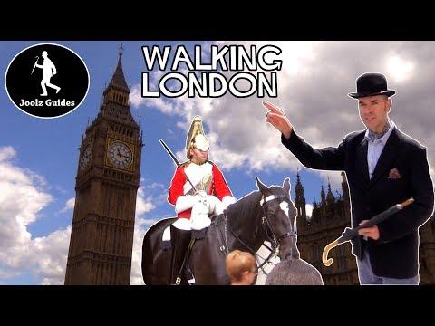 Hidden Gems London Walking Tour 4 : Trafalgar Square - Whitehall