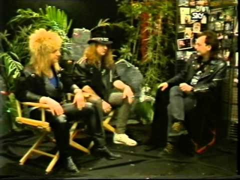 Great White 1987 Interview (80 of 100+ Interview Series)