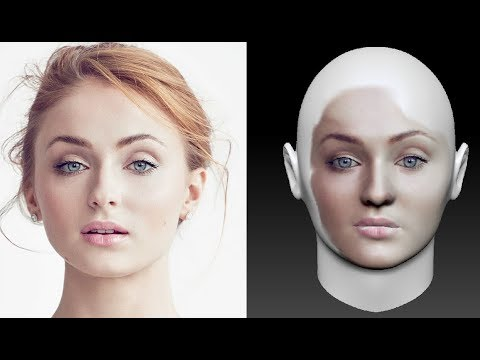 How To Make 3d Face Model With Facegen