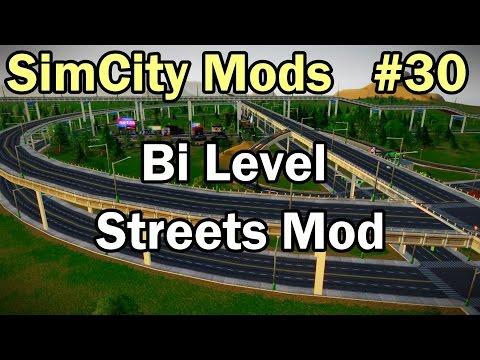 SimCity 5 (2013) Mods #30 ►Bi Level Streets Mod By MaxvSk◀ [REVIEW]
