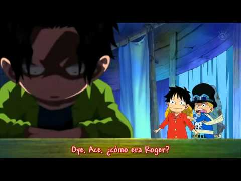 One Piece Luffy Le Dice A Ace Que Su Padre Es Gold Roger
