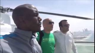 Vin Diesel and Tyrese Gibson in Dubai